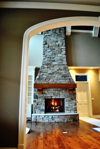 a masonry fireplace is a great way to bring the warmth and glow of a fire into your home and is sure to be the focal point of any room