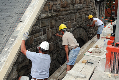 Masonry Restoration By Potts Masonry In Holland Mi